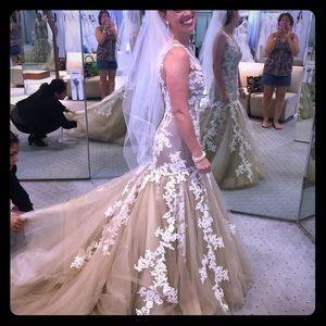 Custom Alfred Angelo wedding gown